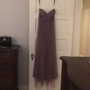 Lavender Jenny Yoo tulle gown